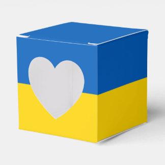 Ukraine Flag Favor Box