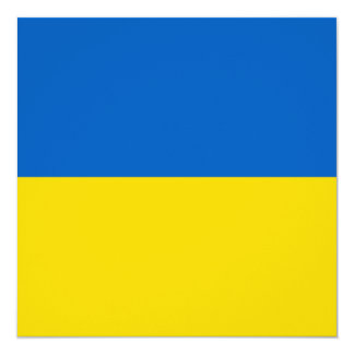 Ukraine Flag Invitation