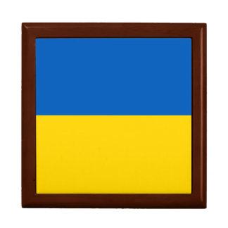 Ukraine Flag Jewelry Boxes