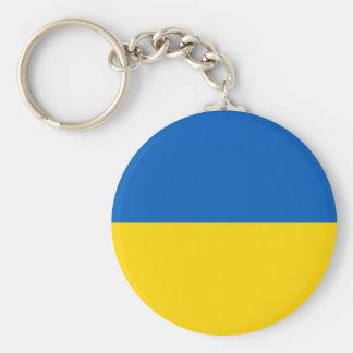 Ukraine flag keychain