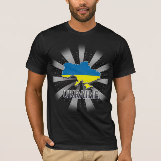 Ukraine Flag Map 2.0 T-Shirt