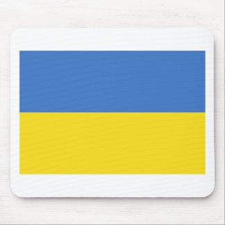 Ukraine flag mouse pad