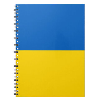 Ukraine Flag Notebook