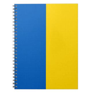 Ukraine Flag Notebook