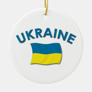 Ukraine Flag - Ornament
