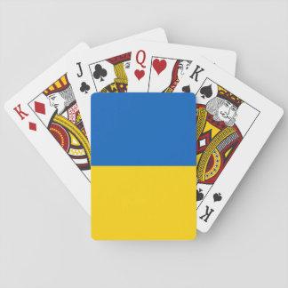 Ukraine Flag Playing Cards