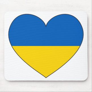 Ukraine Flag Simple Mouse Pad