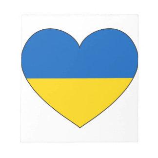 Ukraine Flag Simple Notepad