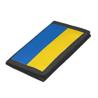 Ukraine Flag Trifold Wallets