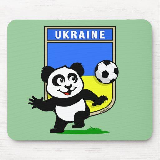 Ukraine Football Panda Mouse Mats