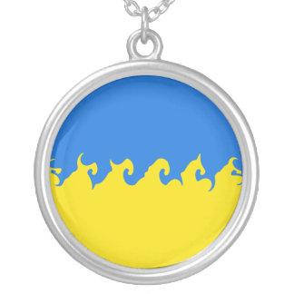 Ukraine Gnarly Flag Custom Jewelry
