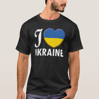 Ukraine Love W T-Shirt