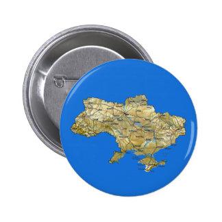 Ukraine Map Button