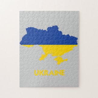 UKRAINE MAP JIGSAW PUZZLE