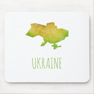 Ukraine Map Mouse Pad