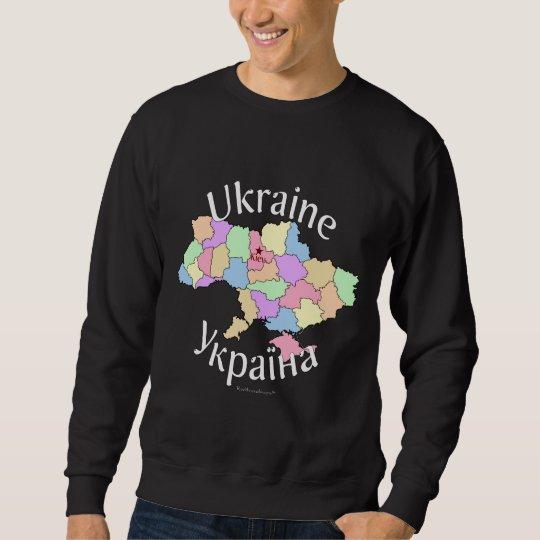 Ukraine Map Sweatshirt