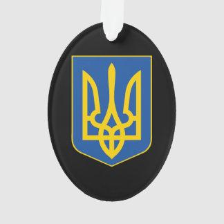 Ukraine national emblem country symbol flag ornament