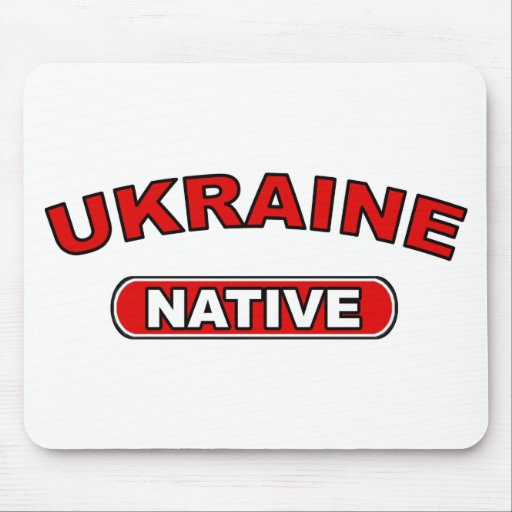 Ukraine Native Mouse Pad