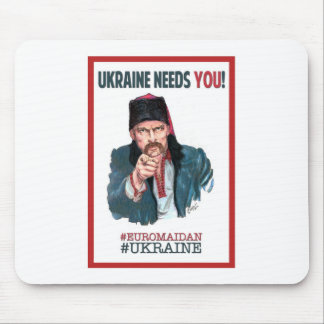 Ukraine Needs You! - Support Euromaidan Mouse Pad
