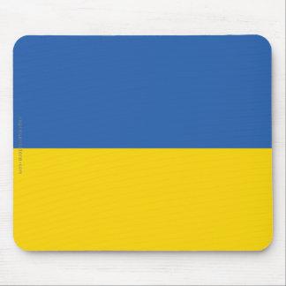 Ukraine Plain Flag Mouse Pad