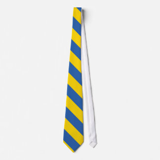 Ukraine Plain Flag Tie