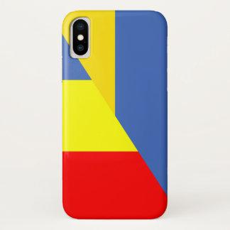 ukraine romania flag country half symbol Case-Mate iPhone case