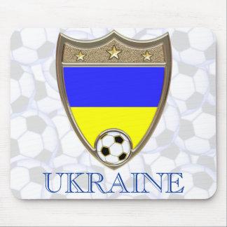 Ukraine Soccer Mouse Pad