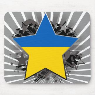 Ukraine Star Mouse Pad