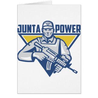 Ukrainian Army Junta Power Card