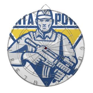 Ukrainian Army Junta Power Dartboard