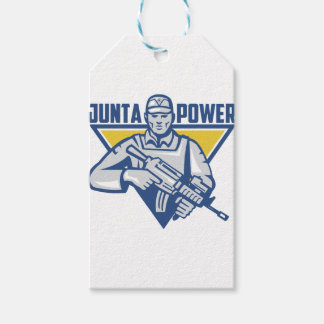 Ukrainian Army Junta Power Gift Tags