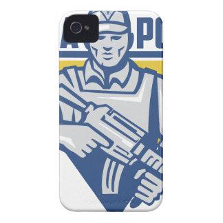 Ukrainian Army Junta Power iPhone 4 Case-Mate Case