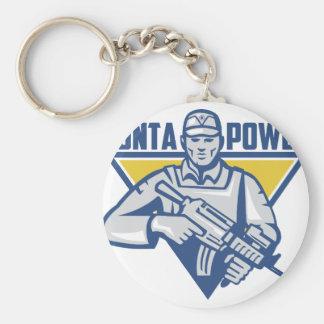 Ukrainian Army Junta Power Keychain
