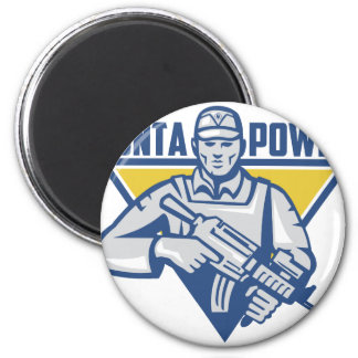 Ukrainian Army Junta Power Magnet