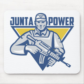 Ukrainian Army Junta Power Mouse Pad