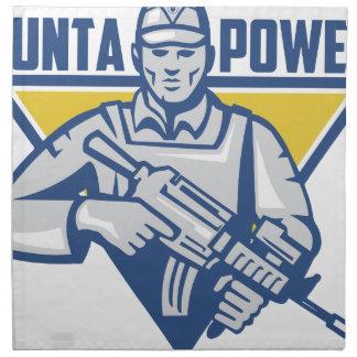 Ukrainian Army Junta Power Napkin