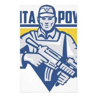 Ukrainian Army Junta Power Stationery