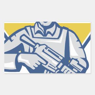 Ukrainian Army Junta Power Sticker