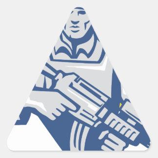 Ukrainian Army Junta Power Triangle Sticker