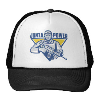 Ukrainian Army Junta Power Trucker Hat