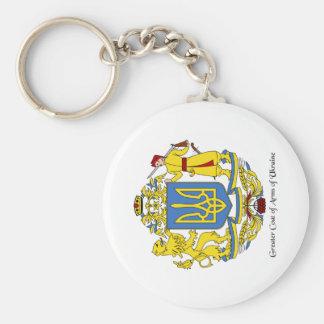 Ukrainian Coat of Arms Keychain