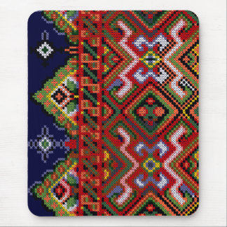 Ukrainian Cross Stitch Embroidery Mousepad