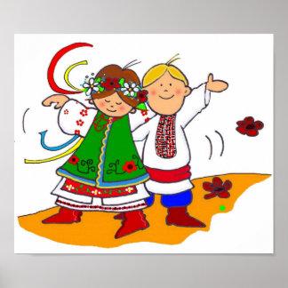 Ukrainian Dance Poster