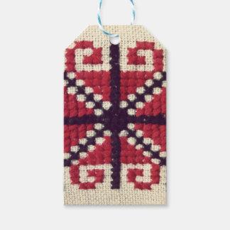 Ukrainian Embroidery Gift Tags
