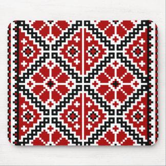 Ukrainian embroidery mouse pad