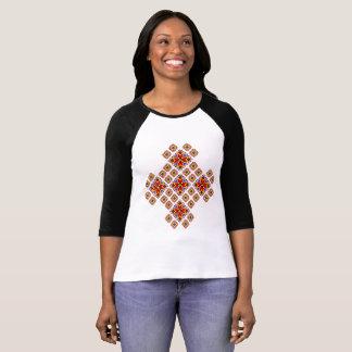 Ukrainian Embroidery Style T-shirt