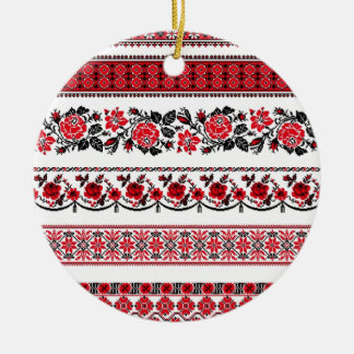 UKrainian ethnic pattern Ceramic Ornament