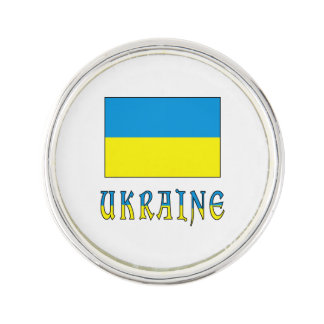 Ukrainian Flag and Ukraine Lapel Pin