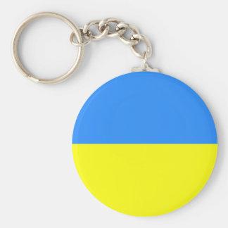 Ukrainian Flag Keychain