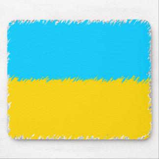 Ukrainian Flag Mouse Pad